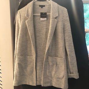 NWT Topshop Sweater Blazer $75 Sz 6